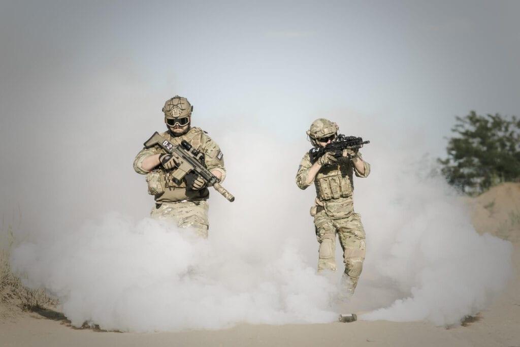 Soldier War Guns
