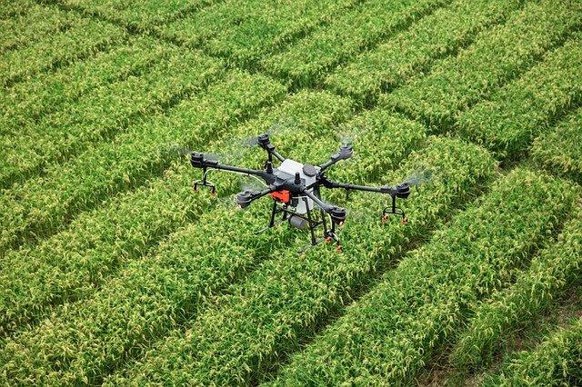Drone using in Farming