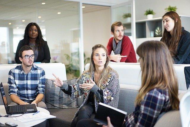 Meeting with peers